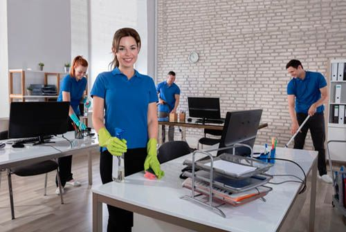 professional office deep cleaners